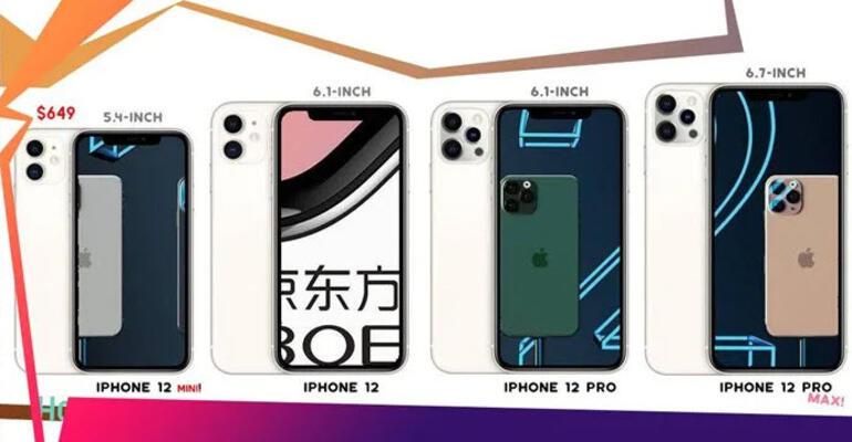 iPhone 12 mini geliyor: İşte ilk görüntüsü