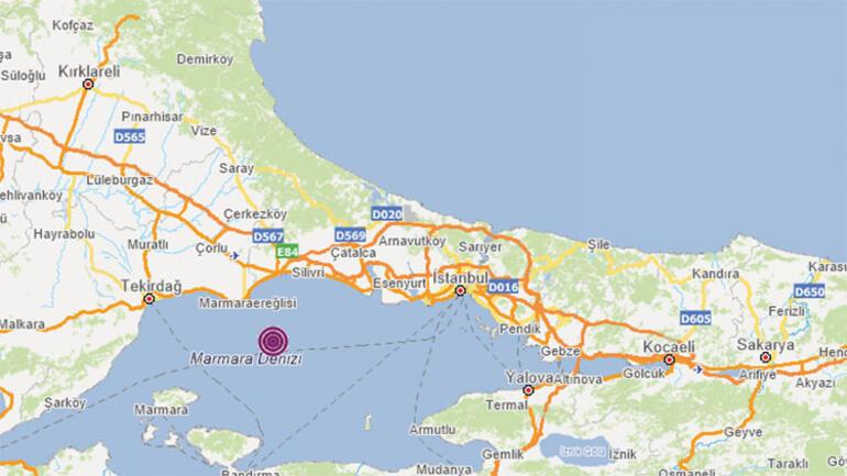 Son Dakika: İstanbulda deprem.. İstanbulda 4.2 büyüklüğünde deprem meydana geldi